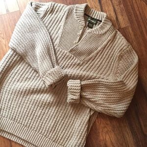 Eddie Bauer Vintage Thick cozy knitted sweater